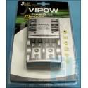 Ładowarka akumulatorów AUTOMATYCZNA AA AAA 9V Ni-Mh Ni-Cd SZYBKA 230V/12V CR826