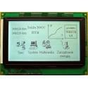 WYŚWIETLACZ GRAFICZNY LCD 240x128 FHW - T6963C GENERATOR ZNAKÓW