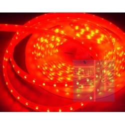 TAŚMA ELASTYCZNA LED CZERWONA 12V - 0,5m - w osłonie