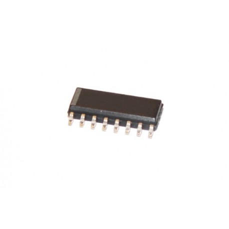 MAX232 - ICL232 RS232-TTL smd SO-16 wąska TI