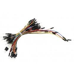 Zestaw 75 szt Kabli-zworek połączeniowych do płytek stykowych