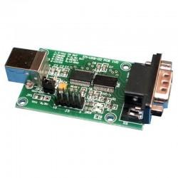 MODUŁ EM213 INTERFEJS KONWERTER USB-RS232 + KOMPLET PRZEWODÓW