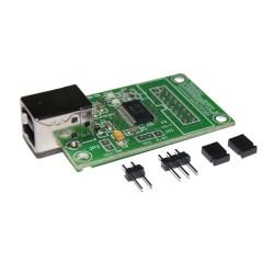 MODUŁ ZESTAW EM212 PCB + ZŁĄCZA INTERFEJS KONWERTER USB-RS232 (TTL)