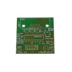Płytka drukowana INTERFEJS KONWERTER RS232/TTL MAX232 MAX3232 - RS232/TTL
