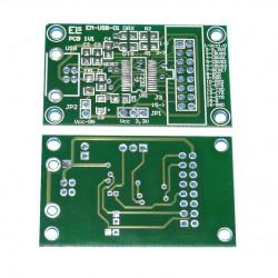 Płytka drukowana INTERFEJS KONWERTER EM212 USB-RS232 TTL