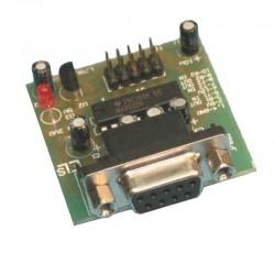 Interfejs konwerter RS232 - TTL + LM78L05 EM207 MODUŁ