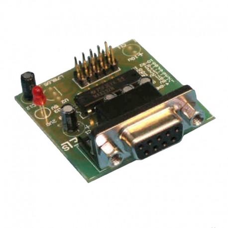 Interfejs konwerter RS232 - TTL MAX3232 ZASILANIE Z PORTU COM - EM215 MODUŁ