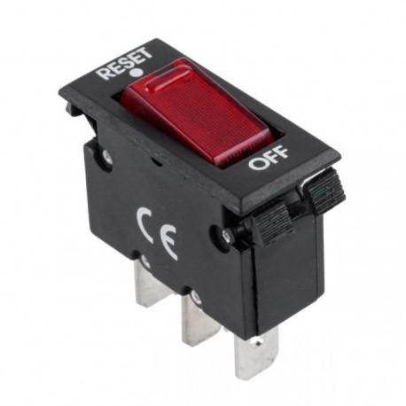 PRZEŁĄCZNIK IRS001A CZERWONY 0-RESET 10A 250V AC /PRK0035