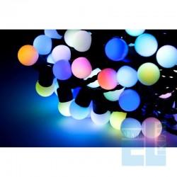SZNUR 100x LED LAMPKI OZDOBNE MULTICOLOR CHOINKOWE RGB 10m
