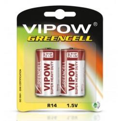 BATERIA R14 1,5V VIPOW GREENCELL
