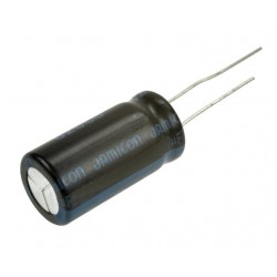 KONDENSATOR 47uF 400V 105C 16x25mm JAMICON TK
