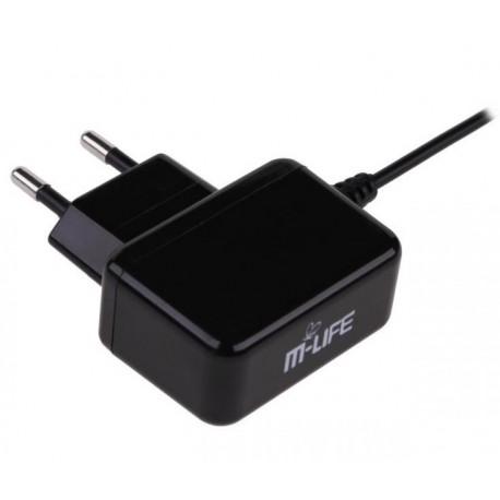 ŁADOWARKA SIECIOWA MINI USB 800mA M-LIFE ML0450