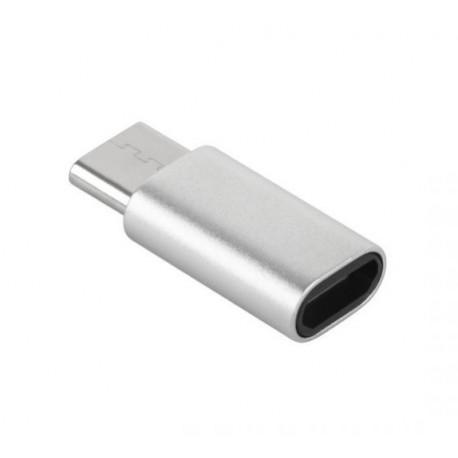 ADAPTER PRZEJŚCIÓWKA MICRO USB-USB C M-LIFE ML0850S