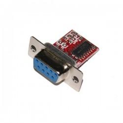 Interfejs Konwerter Mini EM205 do komunikacji - programowania RS232 / TTL Zasilanie COM