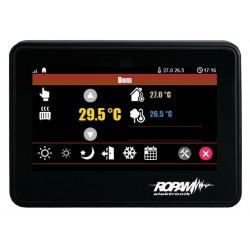 """PANEL DOTYKOWY TPR-4BS-P 4,3"""" TFT LCD DOTYKOWY ABS CZARNY 123x89x18mm"""