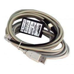 KABEL USB-MGSM DO PROGRAMOWANIA URZĄDZEŃ ROPAM KONWERTER USB-RS232 TTL
