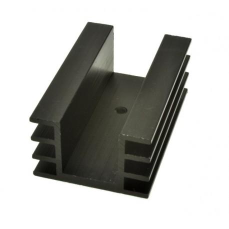 Radiator DY-AM/5 czerniony 50mm U 7K/W 32mm 20mm