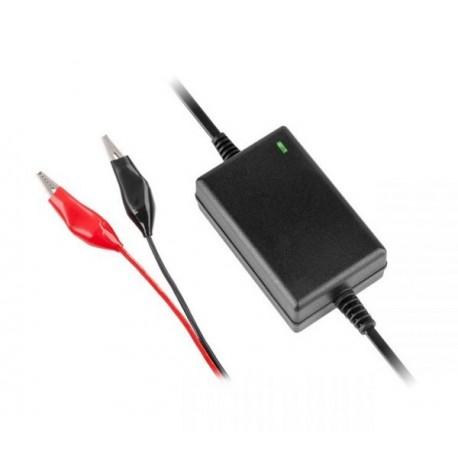 Ładowarka do akumulatorów żelowych 12V 1,3-40Ah 1,5A WTYK DC 2,1/5,5 AUTOMATYCZNA