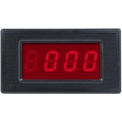 WOLTOMIERZ PANELOWY 0-200V AC LED 3,5 cyfry MIERNIK