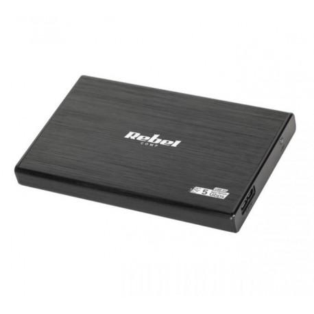 """OBUDOWA DYSKU 2,5"""" SATA USB 3.0 REBEL ALUMINIOWA KOM0692"""