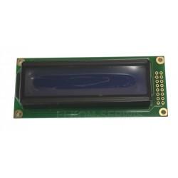 WYŚWIETLACZ LCD 2x16 WH1602C TMI LED NEGATYW BLUE CYRYLICA 16x2