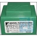 TRANSFORMATOR SIECIOWY TEZ 10/D 230V 9V-9V ZALEWANY W DRUK