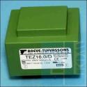 TRANSFORMATOR SIECIOWY TEZ 16D 16W 230V 15V 1,07A ZALEWANY W DRUK