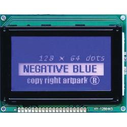 WYŚWIETLACZ GRAFICZNY LCD 128x64 A W/B