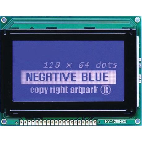 WYŚWIETLACZ GRAFICZNY LCD 128x64 A W/B - TERAZ 62zł !!!