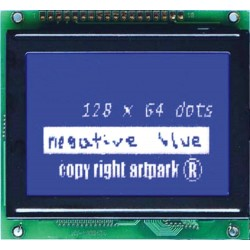 WYŚWIETLACZ GRAFICZNY LCD 128x64 C W/B - TERAZ 58zł !!!