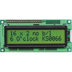 WYŚWIETLACZ LCD 2x16 E YG BEZ PODŚWIETLENIA 16x2 SUPER PŁASKI !