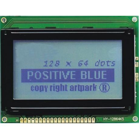 WYŚWIETLACZ GRAFICZNY LCD 128x64 A B/W - TERAZ 63zł !!!