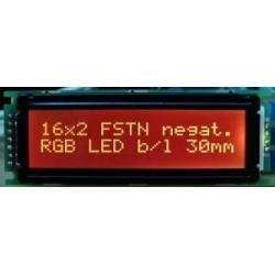 WYŚWIETLACZ LCD 2x16 F RGB / K 16x2