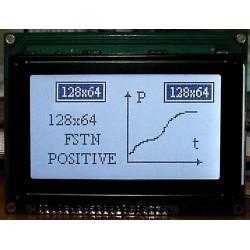 WYŚWIETLACZ GRAFICZNY LCD 128x64 A K/W FHW Biały