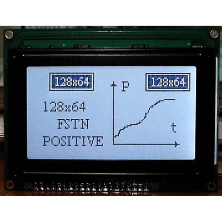 WYŚWIETLACZ GRAFICZNY LCD 128x64 A K/W - TERAZ 55zł !!!
