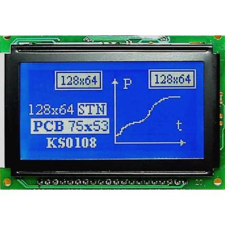 WYŚWIETLACZ GRAFICZNY LCD 128x64 H BHW W/B - TERAZ 56zł !!!