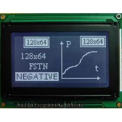 WYŚWIETLACZ GRAFICZNY LCD 128x64 G W/KK DIW