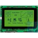 WYŚWIETLACZ GRAFICZNY LCD 240x128 Y/G T6963C GENERATOR ZNAKÓW