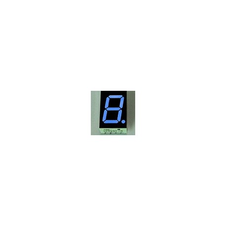 WYŚWIETLACZ LED 05613BB-B 14,2mm NIEBIESKI - BLUE