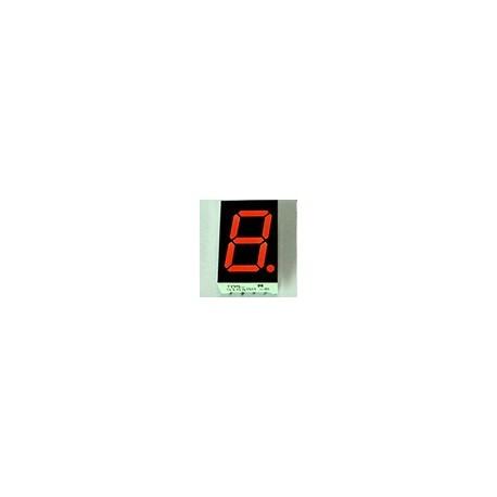 WYŚWIETLACZ LED 05613BS-B 14,2mm CZERWONY - RED