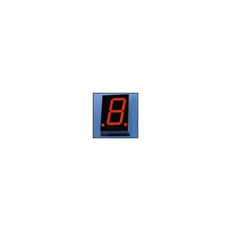 WYŚWIETLACZ LED 08012BS-B 20,4mm CZERWONY - RED