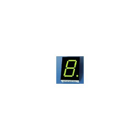 WYŚWIETLACZ LED 08011BMG-B 20,4mm ZIELONY - GREEN