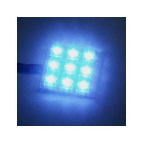 DIODA LED FLUX NIEBIESKA 400mcd 80 st