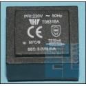 TRANSFORMATOR 3VA 230V - 9V 334mA