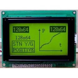 WYŚWIETLACZ GRAFICZNY LCD 128x64 A Y/G