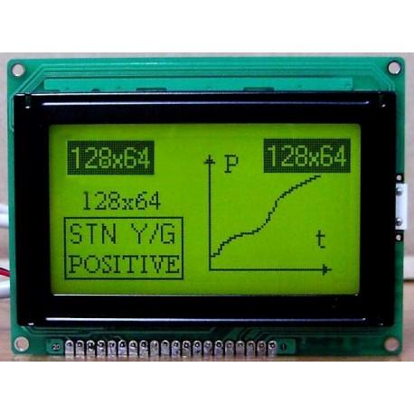 WYŚWIETLACZ GRAFICZNY LCD 128x64 A Y/G - TERAZ 51zł !!!
