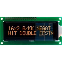 BLACKLINE LCD 2x16 E DLA A/KK 16x2 AMBER CYRYLICA NOWOŚĆ !!!