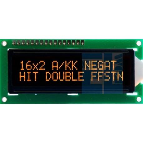BLACKLINE LCD 2x16 E DLA A/KK 16x2 AMBER CYRYLICA