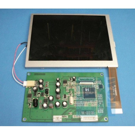 """PANEL LCD TFT 5,6"""" 320x234 KOLOROWY RGB podświetlenie LED, z wejściem composite VIDEO"""