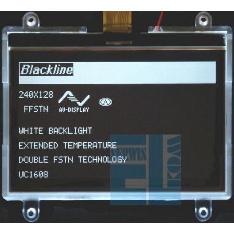 BLACKLINE WYŚWIETLACZ GRAFICZNY LCD 240x128 D DIW W/KK FFSTN